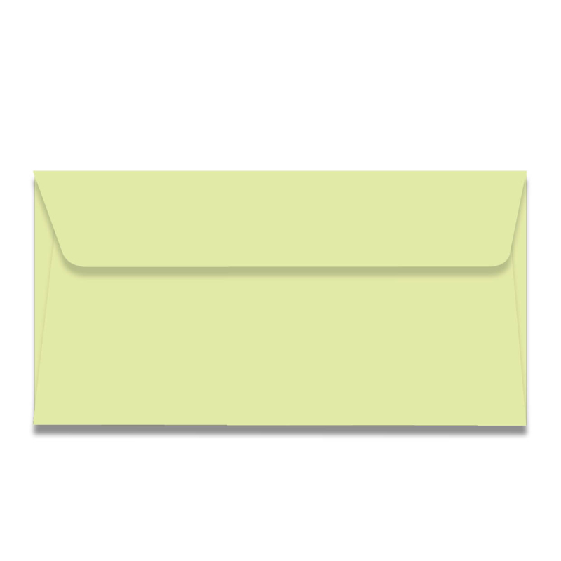 Pastelgroene US envelop