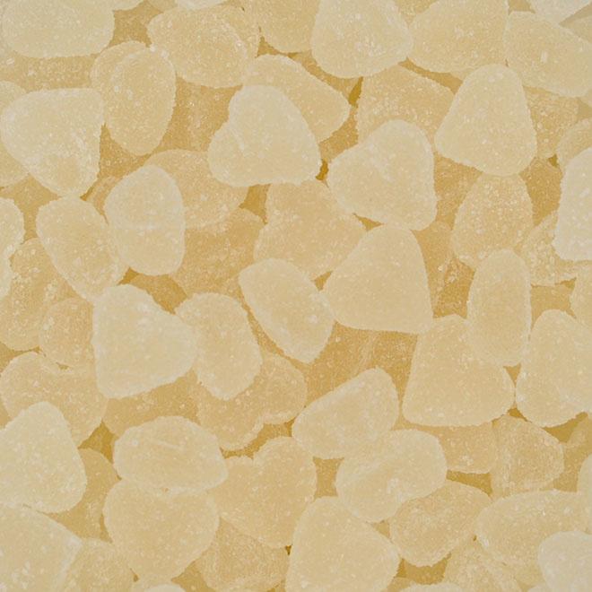 Gebroken witte hartjes met suikerlaag (1 kg) | Joris