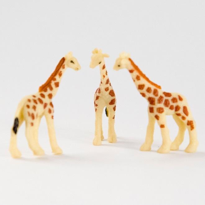 Miniatuur giraf