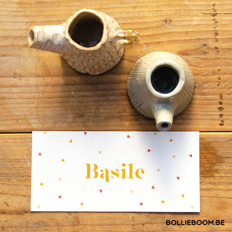 Driehoekjes | Basile | 23 augustus 2021