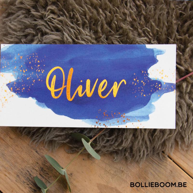 Koperfolie   Oliver    25 augustus 2020