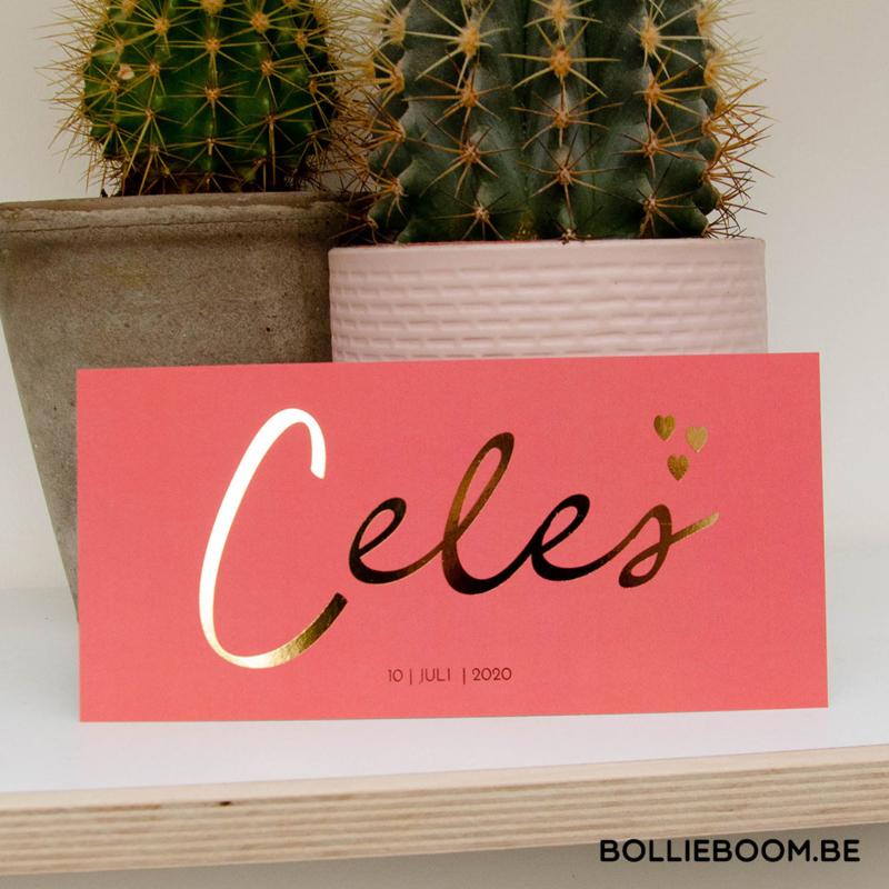 Goudfolie | Celes | 10  juli 2020