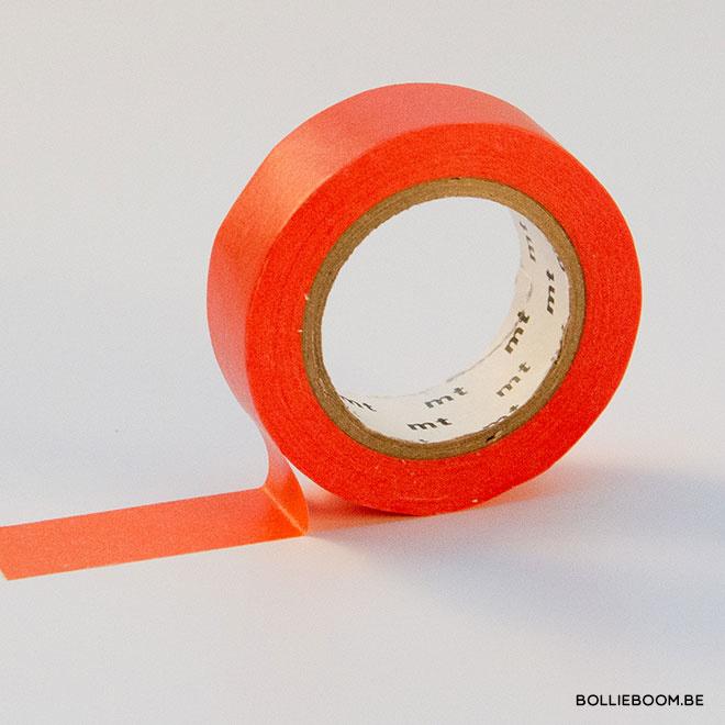 Rood oranje masking tape