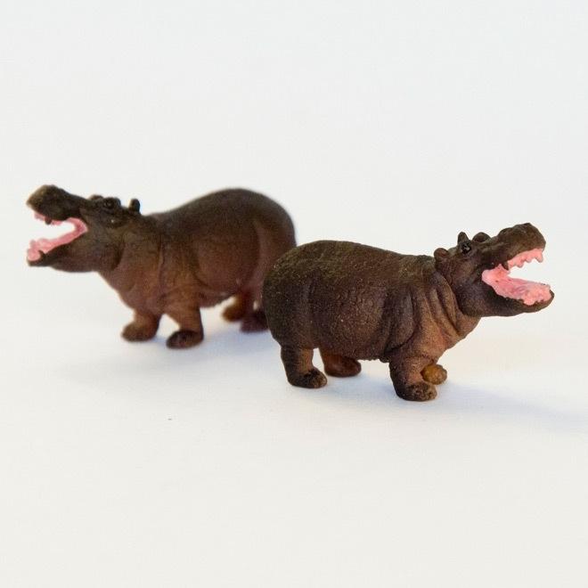 Miniatuur nijlpaard