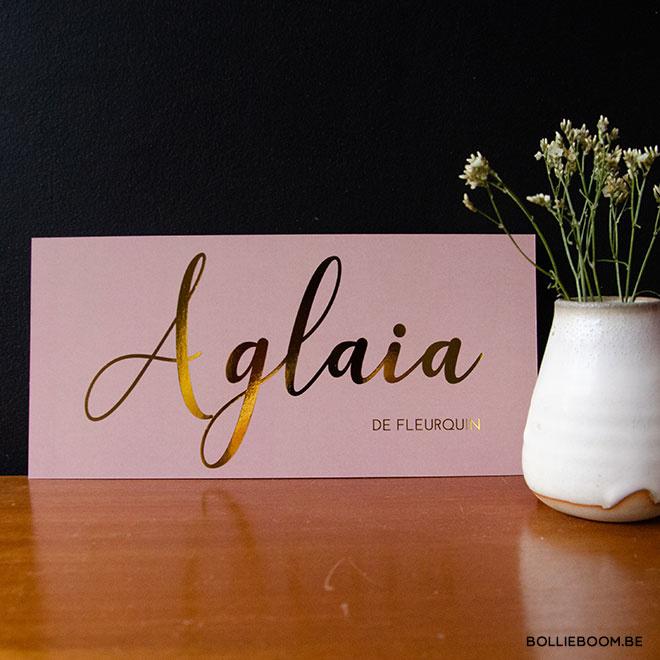 Aglaia | 30 oktober 2018