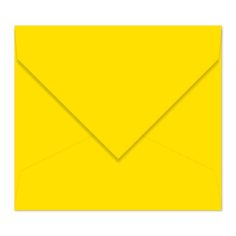 Kanariegele envelop