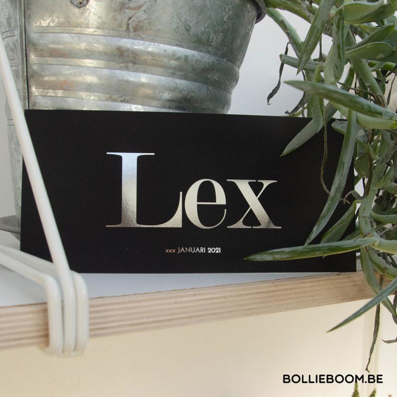 Zilverfolie   Lex   6 januari 2021