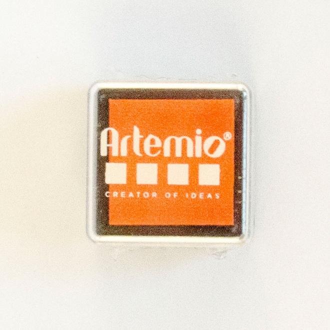 Oranje inkt