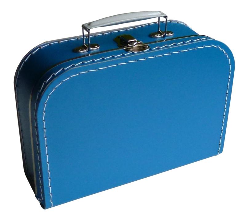 Turquoise klein valiesje