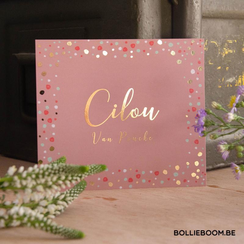 Goudfolie | Cilou | 17 december 2020