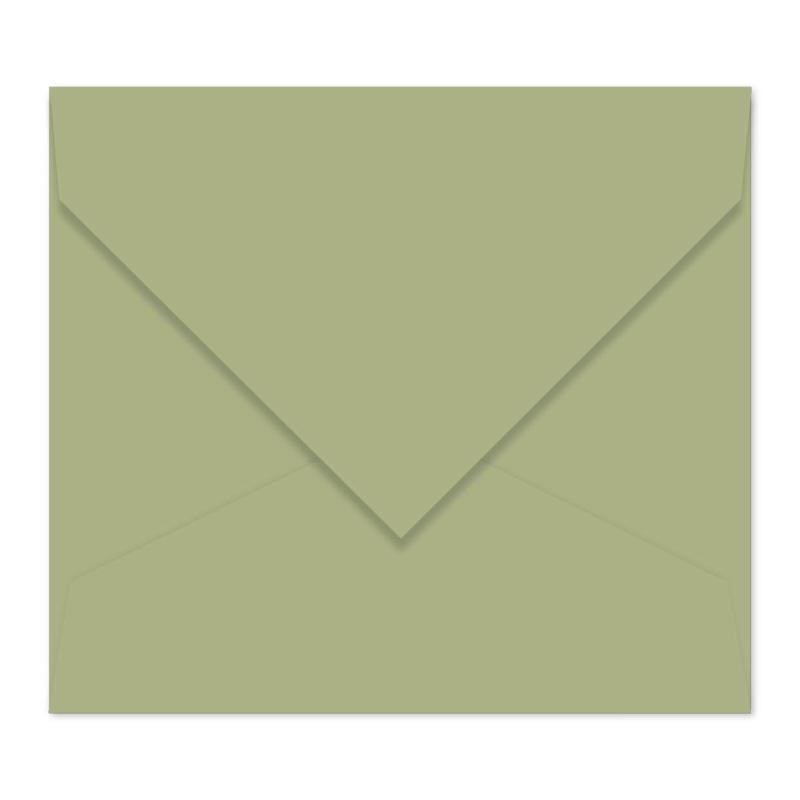 Zijdegroene envelop