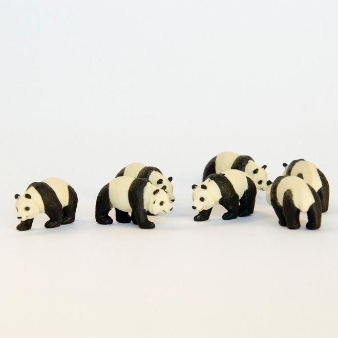 Miniatuur panda
