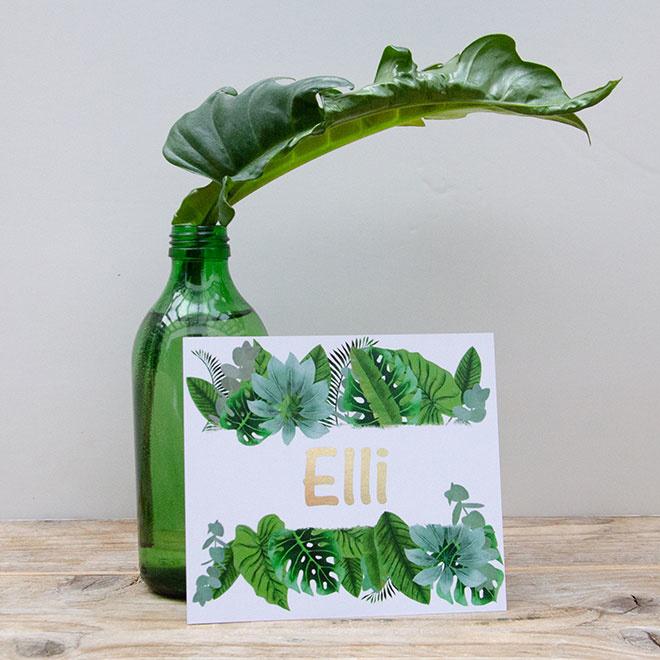 Botanisch | Elli |  21 februari 2020