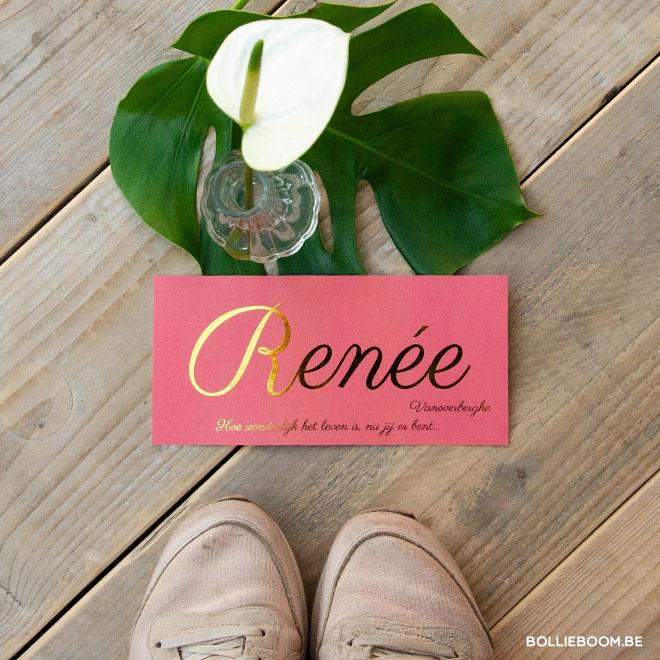 Renée | 28 maart 2019