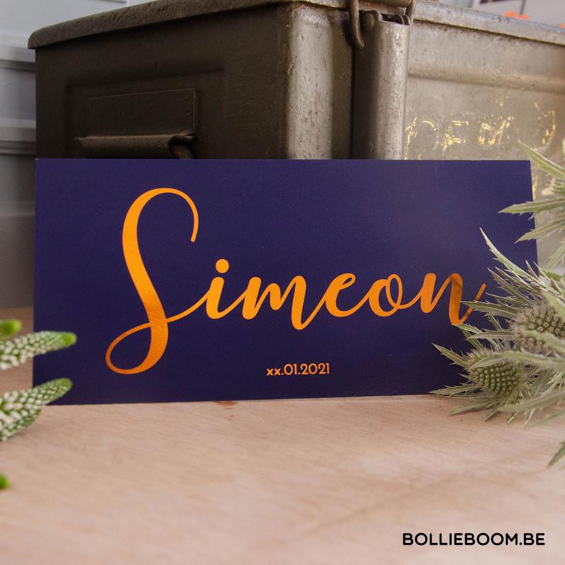 Koperfolie | Simeon | 24 december 2020