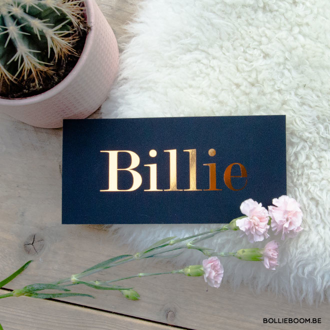 Billie | 28 april 2019