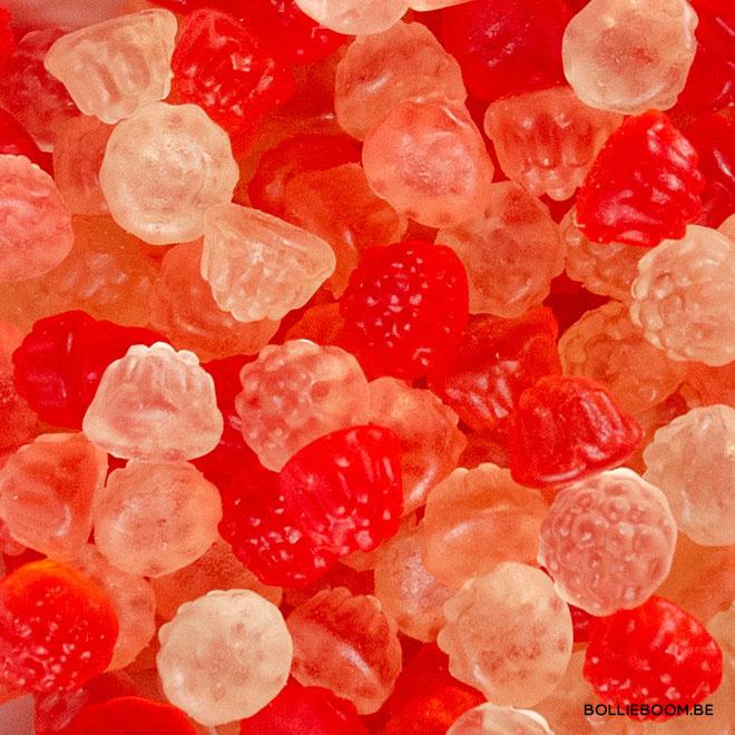 Suikervrije gekleurde bessen (1 kg)