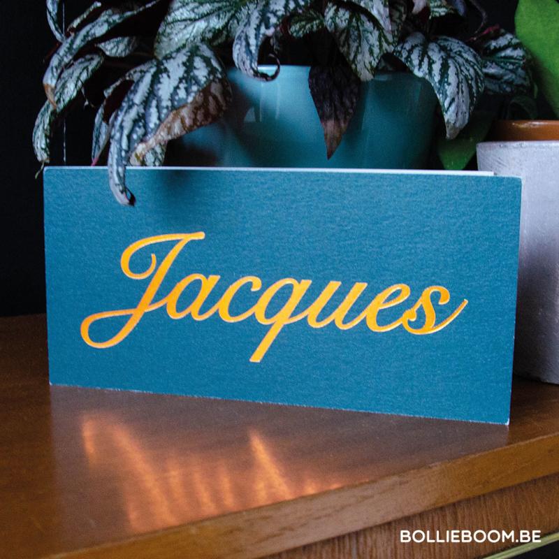 Traditionele foliedruk   Jacques   12 maart  2021