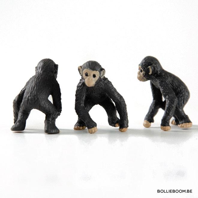 Miniatuur chimpansee