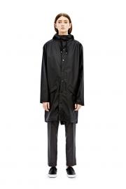 RAINS - long jacket - black