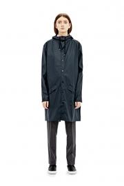 RAINS - long jacket - blue