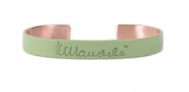 mandela bangle - groen