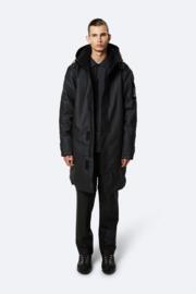 RAINS -  Glacial Coat - Black