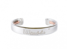 mandela bangle zilver small