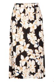 Zilch - Skirt Midi Hawaii Black