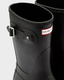 Hunter - Woman's Original Wellington Short Boot Black