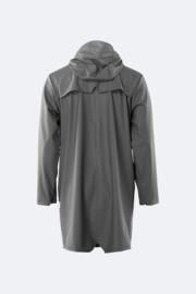 RAINS - long jacket - charcoal