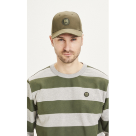 Knowledge Cotton Apparel - Pacific Cap Forrest Night