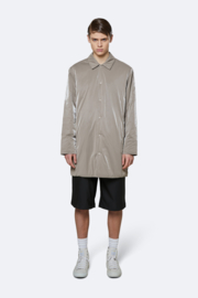 RAINS - Drifter Mac Coat Taupe