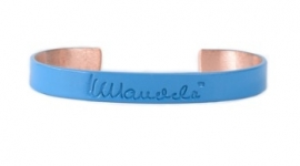 mandela bangle - blauw