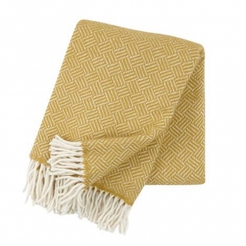 klippan - samba- 100% lamswol geel