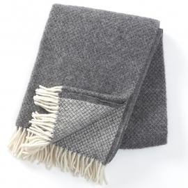 klippan - vega - 100% lamswol - grijs