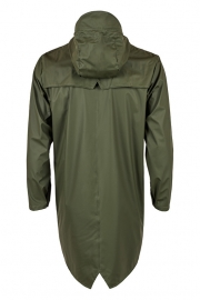 RAINS - long jacket - green