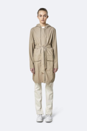RAINS - belt jacket - beige