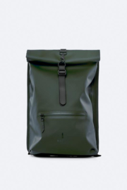 RAINS - Rolltop Rucksack - green