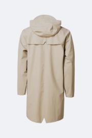 RAINS - long jacket - beige