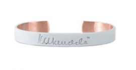mandela bangle - wit