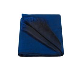Apalca Loca Double Scarf Azure/ Royal Blue