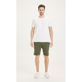 Knowledge Cotton Apparel -Teak Sweat Shorts Forrest Night