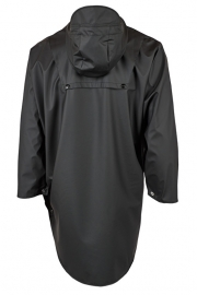 RAINS - poncho - black