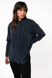 Kuyichi - Mia Tencel Shirt Dark Navy