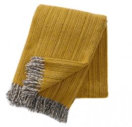 klippan - bjork eco - 100% lamswol - geel