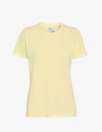 colorful Standard - Women Light Organic Tee Soft Yellow