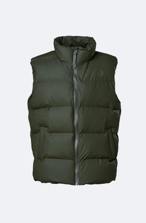 Rains - Puffer Vest Green