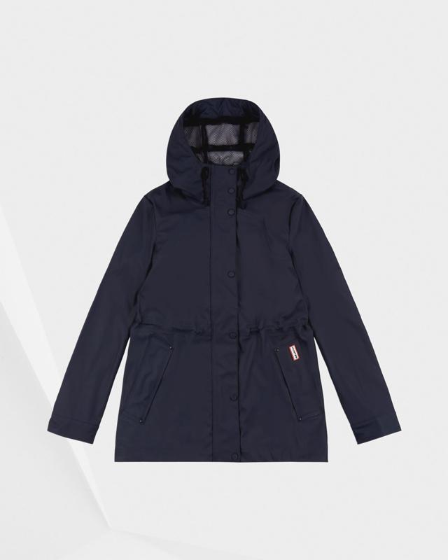 Hunter - Original LW Rubberised Jacket Black