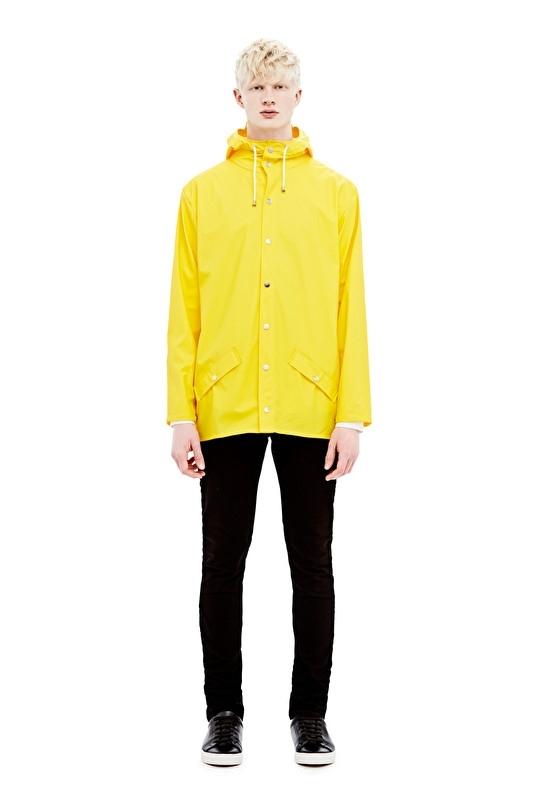 RAINS - jacket - yellow